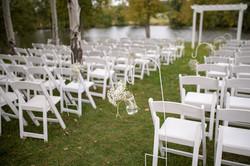 Ceremony at Pond Site