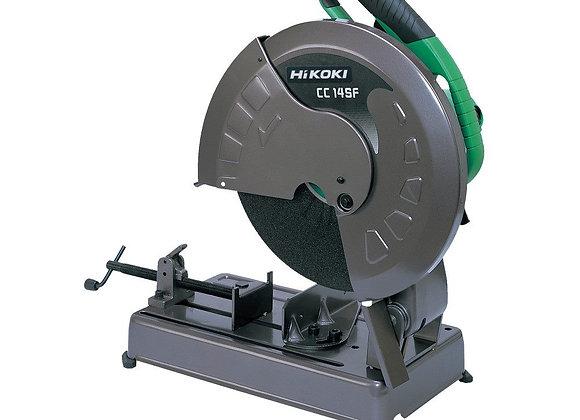 Hikoki steel cut off drop saw