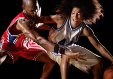 Jugadores de baloncesto