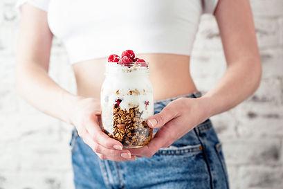 Yogurt With Granola And Berries Balanced