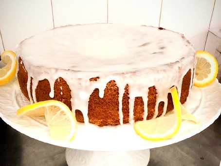 Recipe: Gluten Free and Dairy Free Olive Oil Lemon Cake