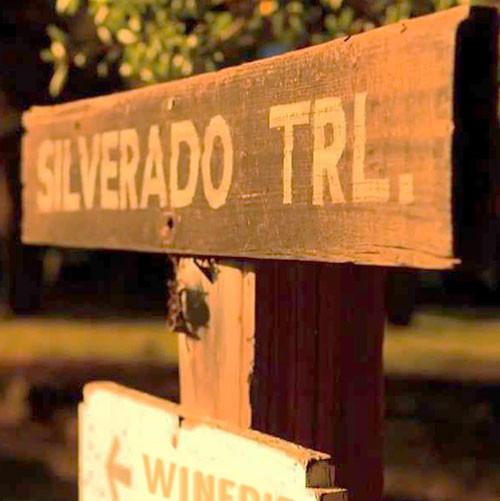 Old Silverado Trail Sign