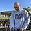 Thumbnail: Grey Sweatshirt with Black Logo