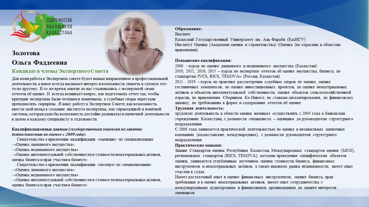 Золотова О.Ф.