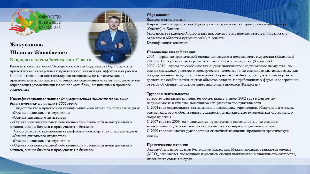 Жакупханов Ш.Ж.