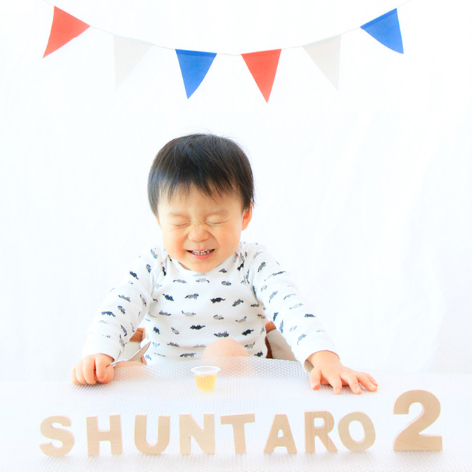 2歳の男の子、おうち撮影