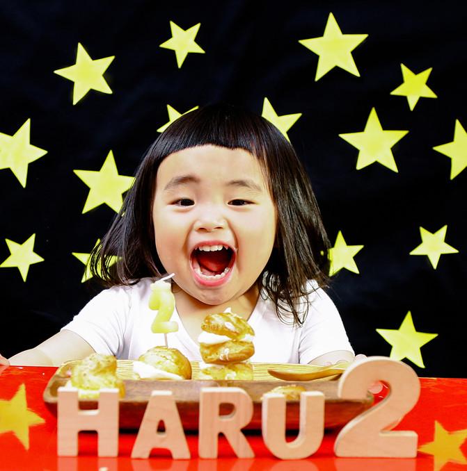 2歳女の子 おうち撮影
