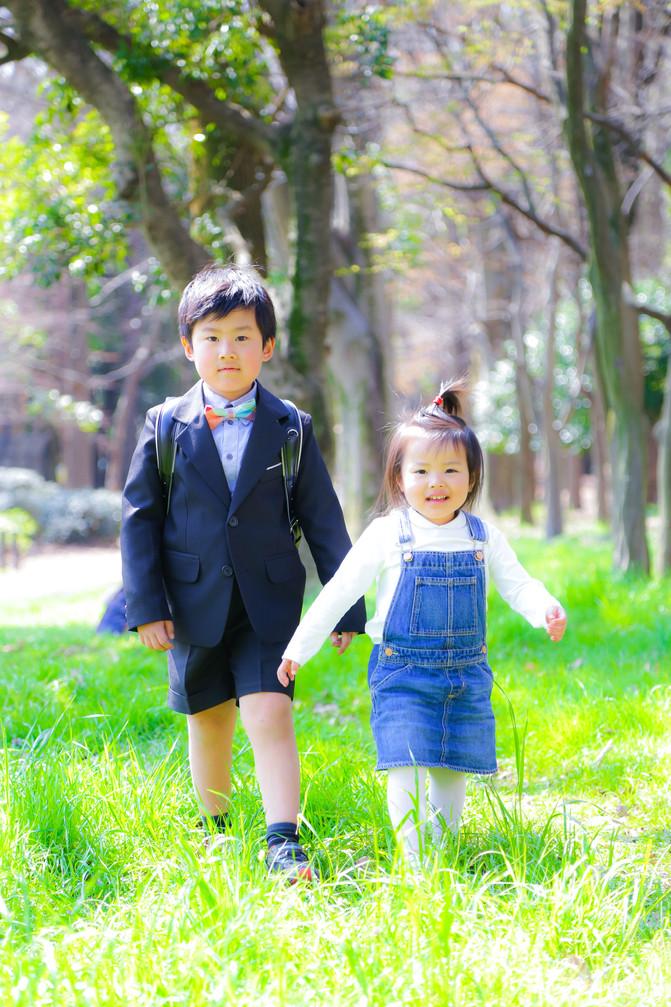 春の家族写真「期間限定お試しプラン@世田谷砧公園」撮影レポート