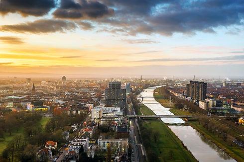 Mannheim Ludwigshafen Skyline, Germany.jpg