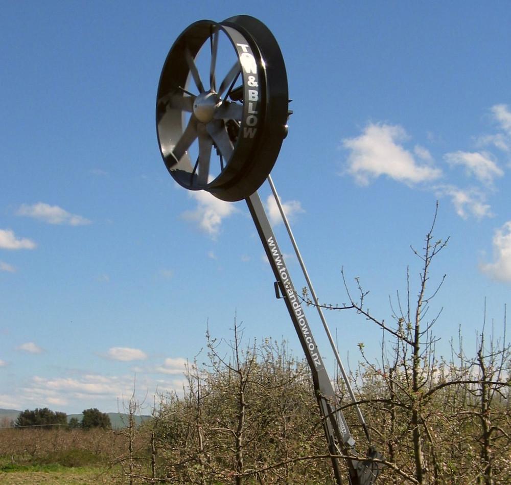 Portable Wind Machine