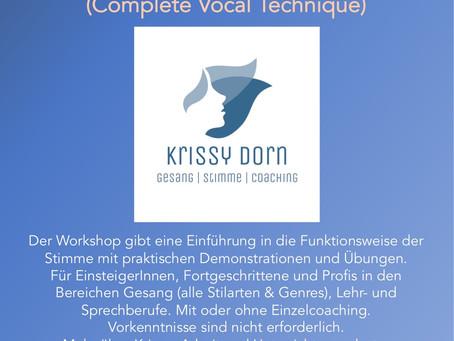 Gesangs- und Stimmworkshop nach CVT
