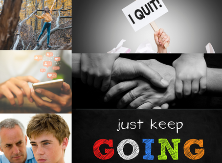 I Quit! What does this term mean to our children?