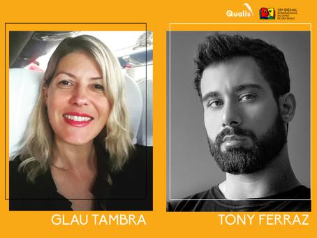 Glau Tambra e Tony Ferraz estão confirmados na Bienal de São Paulo