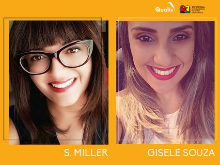 S. Miller e Gisele Souza estão confirmadas na Bienal de São Paulo