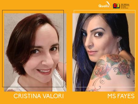 Cristina Valori e MS Fayes estão confirmadas na Bienal de São Paulo