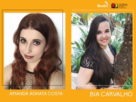 Amanda Ághata Costa e Bia Carvalho estão confirmadas na Bienal de São Paulo