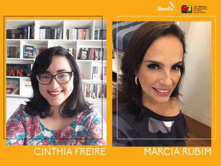 Cinthia Freire e Márcia Rubim estão confirmadas na Bienal de São Paulo