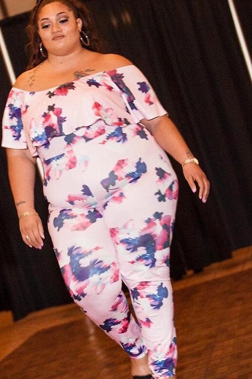 Lynn Floral Jumpsuit