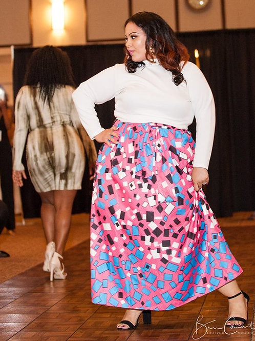 Confetti Maxi Skirt