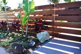 Simple IPE Wood Gate