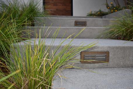Closeup of landscape entry detail