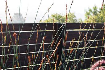 High end fence installation