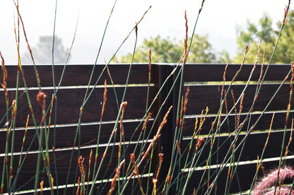 High end fence installation