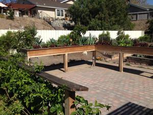 Vegetable Garden Tables San Diego