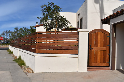 IPE Fence Design and Construction