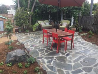 Flagstone Patio Landscape Design
