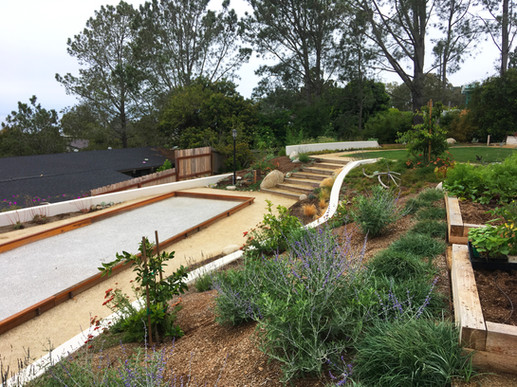 Bocce Ball Court in Landscape Design