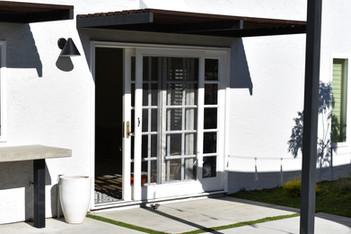 Modern Backyard Entry