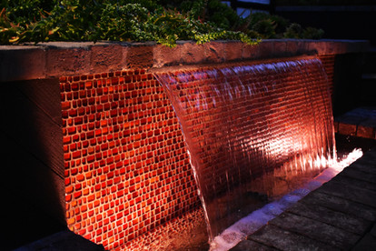 Water Feature & Uplighting