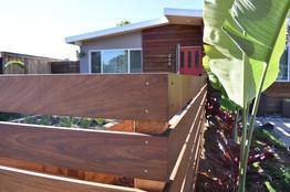 IPE Wood Fence in Encinitas