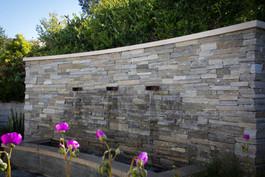 Veneer Wall Landscape Design