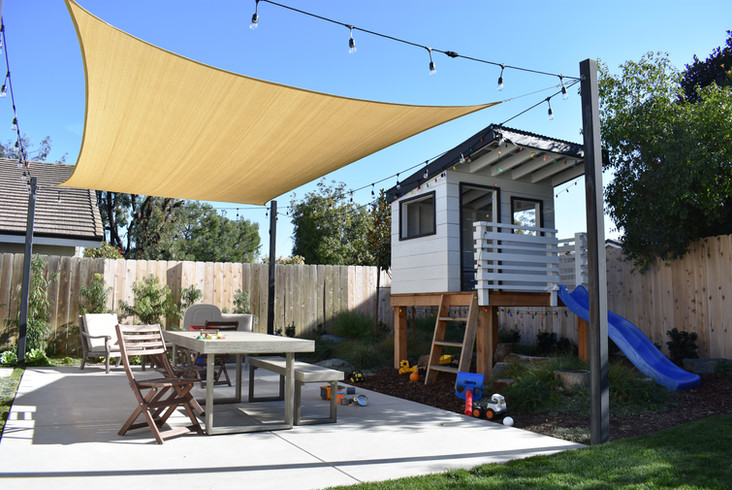 Backyard Childrens Play Space