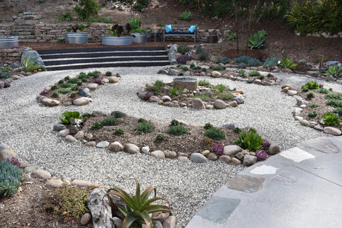 Labrynth Landscape Design in Solana Beach