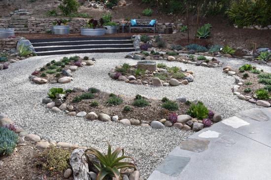Labrynth Landscape Design in Solana Beach