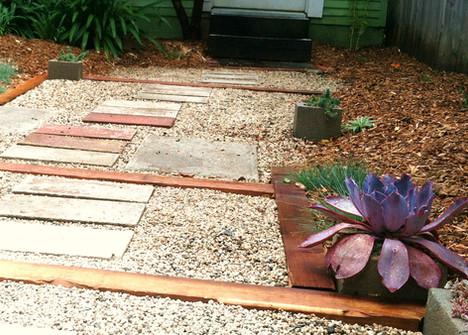 Paver Steps in La Jolla Landscape Design