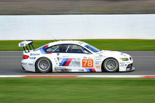 M3 GT2 at full speed