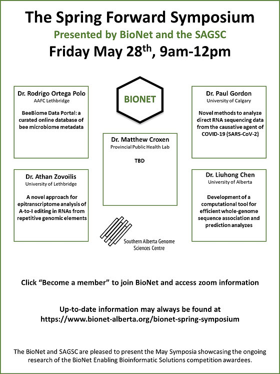 BioNet May Symposium 2021 Poster Website