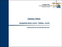 Consultoria - Implementacion Cabotaje Na