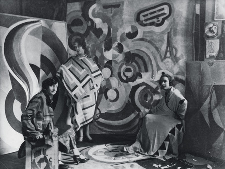 Sonia Delaunay (1885-1979) -  Abolishing the hierarchy between the arts