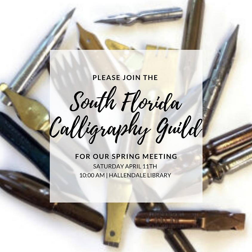 April Member Meeting