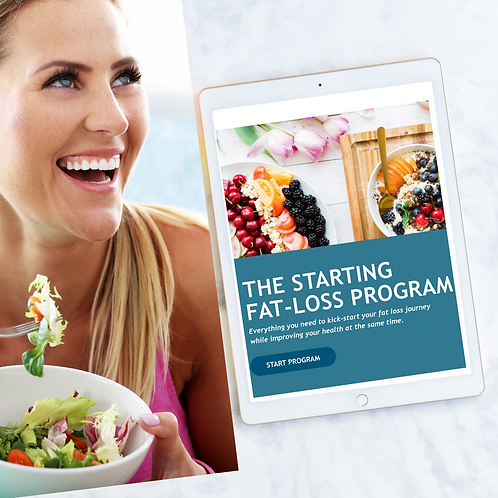 The Starting Fat-Loss Program (with 7-Day Meal Plan & recipes)
