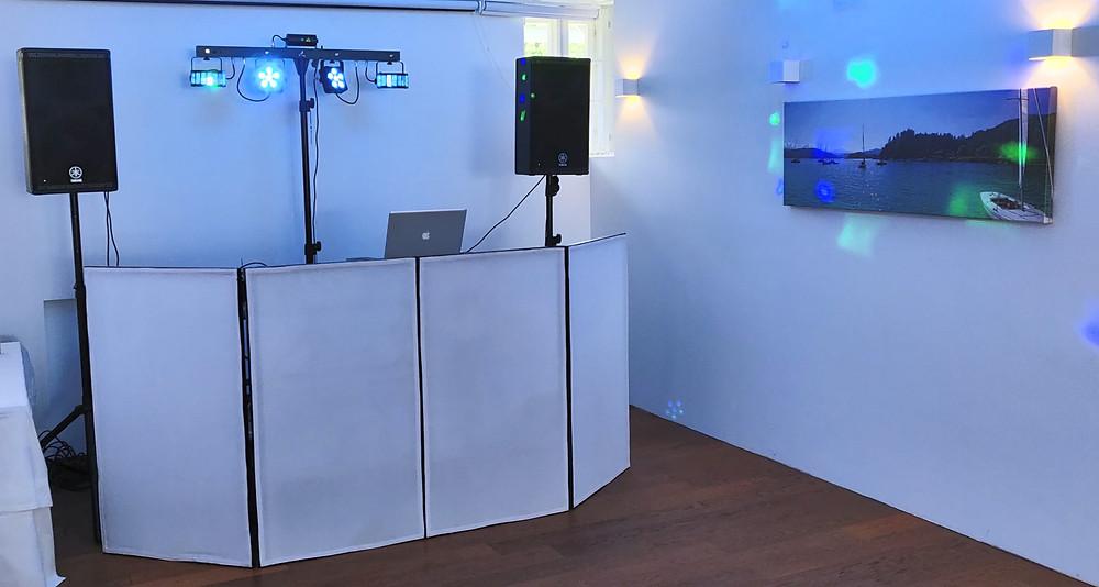 Kompaktes DJ-Set Up