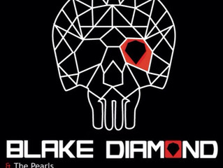 Blake Diamond & the Pearls - Live @ La Féline - Friday 9th of October 2015