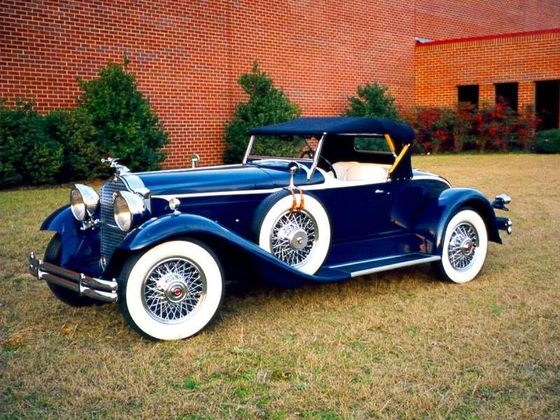 1930 Packard 734 Boattail