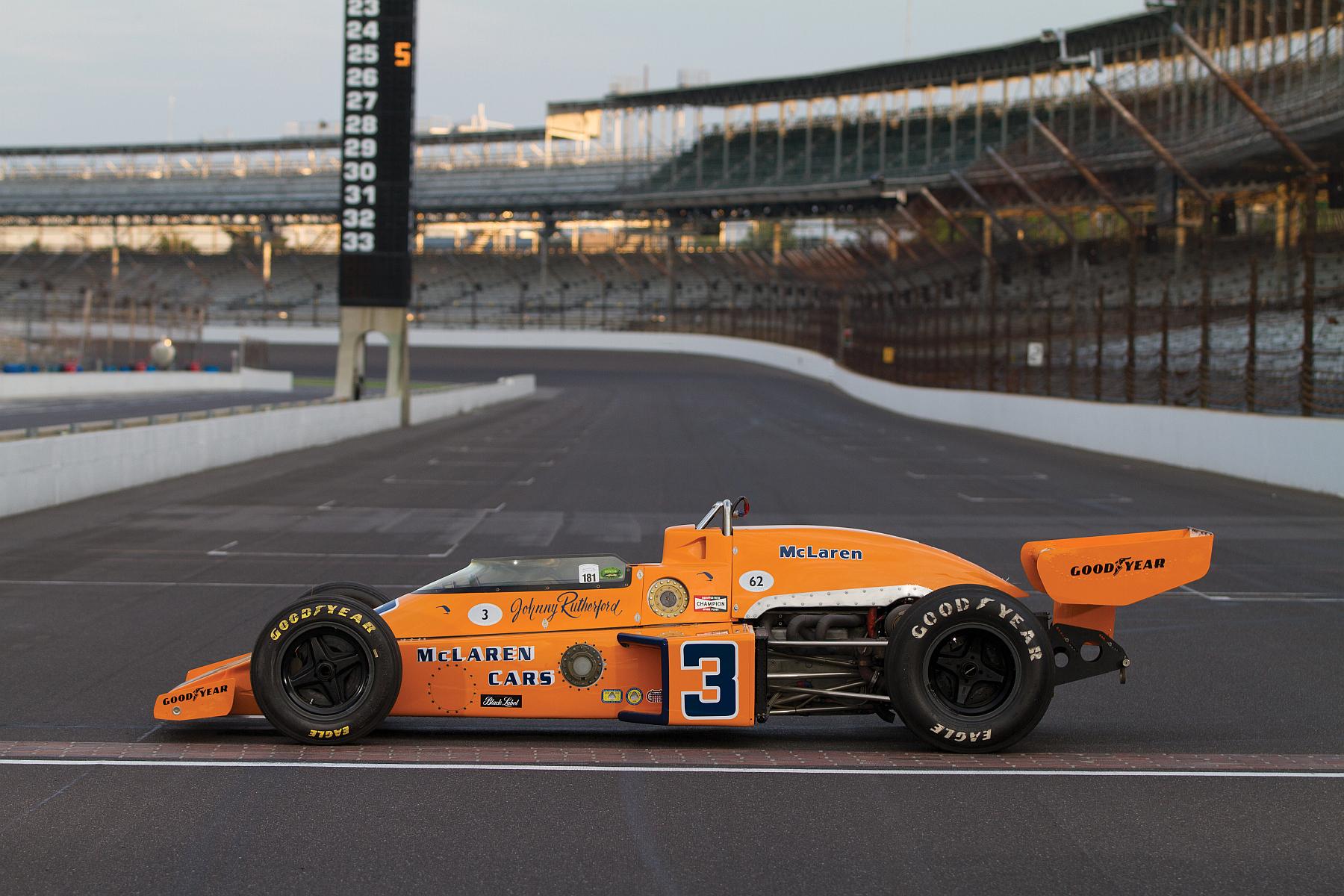 McLaren M16C/D 1974 Indy 500 winner