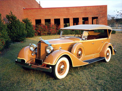 1934 Packard 7 Pass Phaeton